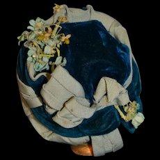 Antique wonderful fashion doll hat
