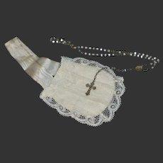 Lovely antique religious set for doll