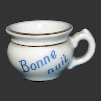 Trench tiny chamber pot by Limoges for your doll's house
