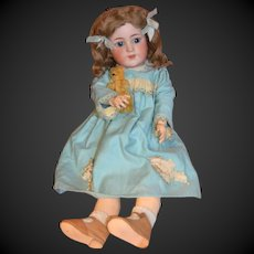 Sweet charming SIMON and HALBIG 550 doll with Gimbel Store Label