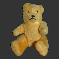"Charming  5"" vintage  1940 teddy bear"