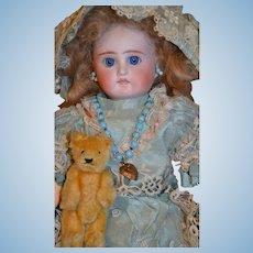 """Gorgeous 13"""" tall belton type doll"""
