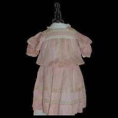 1890/1900 French child dress for your big doll