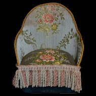 Nice vintage made hand armchair for little doll