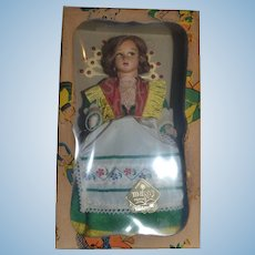 Magis roma doll in traditional costume from MILANO , Lenci type