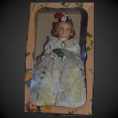 Magis roma doll in traditional costume from ALTO ADIGE , Lenci type