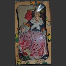 Magis roma doll in traditional costume from ALASSIO (genova) , Lenci type