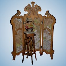 Lovely stand art nouveau style for your doll's house