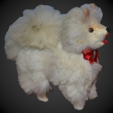 Sweet little spitz dog for your doll