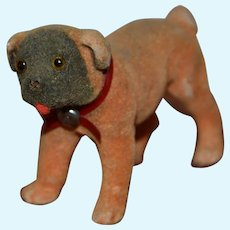Charming little bull dog for your doll