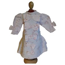 Nice little dress for your French or German doll