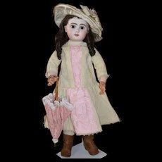 "Fabulous 26""  Open mouth brown eyes Jumeau doll"