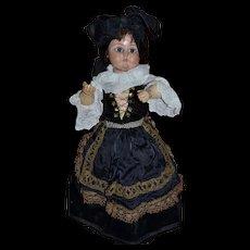1900 Wooden doll sonnenberg  bebe tout en bois