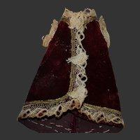Rare made hand French mignonette Dress