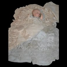 Rare baby wrap or nest angel for little character doll