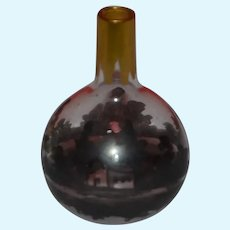 Wonderful tiny glass vase for your doll's house
