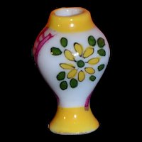 Limoges tiny porcelain vase for your doll's house