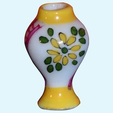 Limoges tiny porcelain vase for your doll's house