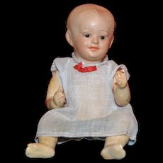 SFBJ Character baby doll composition head wonderful condition 7""