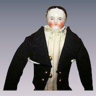 Porcelain man shoulder head