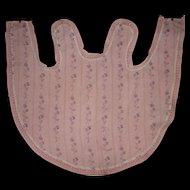 Wonderful apron for french bébé