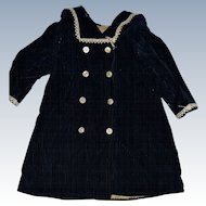 French antique bébé Jumeau coat