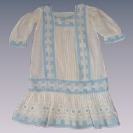 Gorgeous child old dress for your big doll 1900