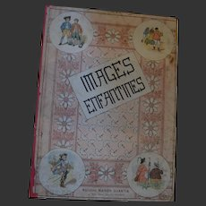 Wonderful French child book with colored lithography