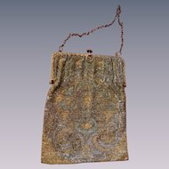 Victorian antique beaded purse