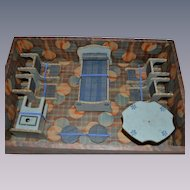 All original miniature  bedroom for doll's house in original box