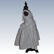 Lovely antique victorian dress for child like dress for HURET dolls