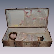 Armand Marseille 1894 in her original box with trousseau