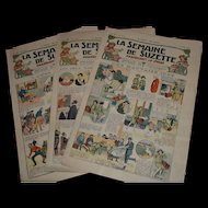 La semaine de suzette de 1923 3 newspaper