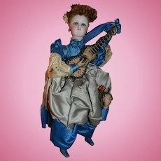 Vichy French fashion doll automaton all original in her box