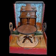 Wonderful French furnitures set 1880 for little doll