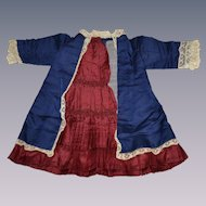 Outstanding antique French bebe dress