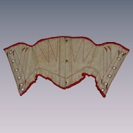 French corset for french bebe bru or a big fashion doll
