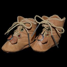 Size 4 little antiques boots for your doll
