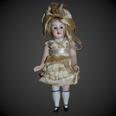 Antique all bisque sweet all original german doll