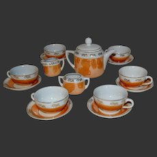 Nice tea set for your dolls