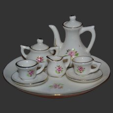 Porcelain tea set for your doll's house