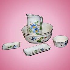 French earthenware toilet 1900