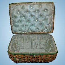 1880/1900 Lovely French straw box