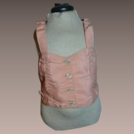 Nice antique french corset for your doll