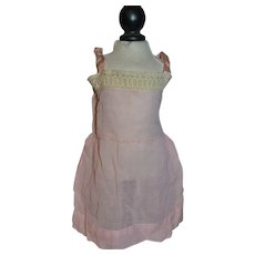 Lovely doll petticoat in fine pink cotton