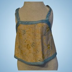 Corset 1900 for doll in perfect condition marked Felix PERE
