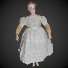 Wonderful antique dress for a poupee