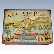 Fabulous fishing game by Saussine 1900 Paris
