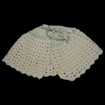 1880 Woolen cape for your doll