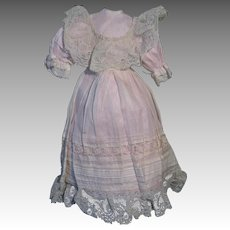 Gorgeous dress for your cabinet size doll